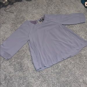 Dusty Plum 3/4 sleeve shirt